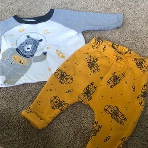 0-3 month winter outfit